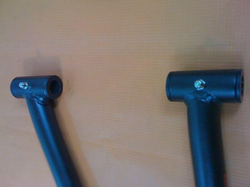 "Raptor 660 1.5/"" Steering stem Chromoly  Anti Vibe 11//8/"" Billet Clamp  ALBA  S"