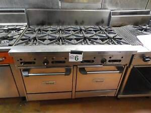 Garland GF48-8LL 8 Burner Gas Double Oven Range - Secondhand Campbellfield Hume Area Preview