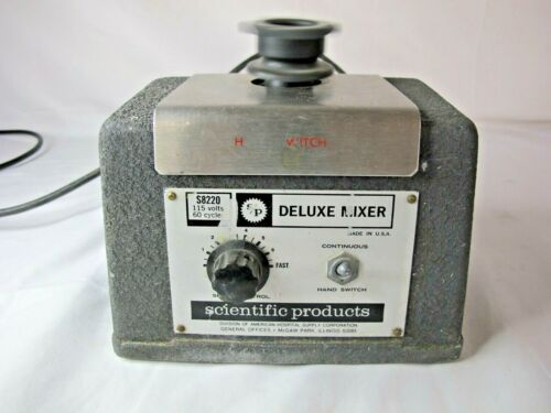 Scientific Products S8220 Deluxe Laboratory Lab Mixer stirrer Free S&H