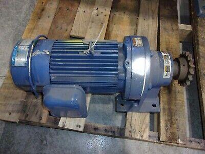 Sumitomo Sm-cyclo 3ph Af Gear Motor 2hp 1740rpm 111 Fa-90l Cnhms24110yavb11