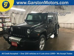 2015 Jeep Wrangler UNLIMITED SAHARA*NAVIGATION*4WD*U CONNECT PHO