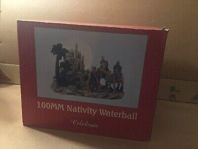Nativity Snow Globe Water Globe. Vintage Sears/Roebuck and Co. Celebraie