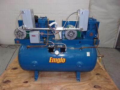 Emglo Jenny Air Compressor 2k15a-60 1.5 Hp 60 Gal Acp2131
