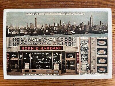 The Automat Machine, Advertising, New York City NY - 1939 Vintage Postcard