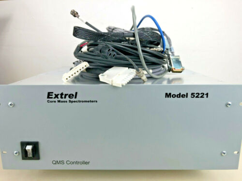 Extrel Merlin Mass Spectrometer Automation Controller Model 5221, w. cables