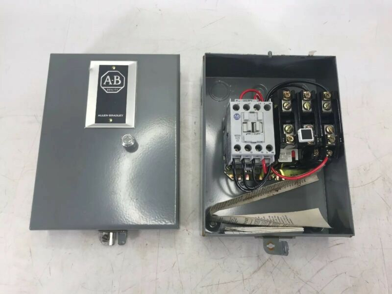 Allen Bradley 509 Magetic Controller Size 00 509-TAD Ser D Nema Type 1