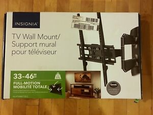 Tv wall mount for 33 to 46 inch Tv