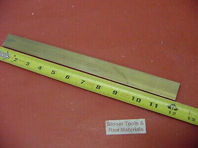 316 X 1-14 C360 Brass Flat Bar 12 Long Solid Mill Stock H02 .187