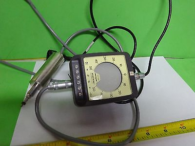 Metrology Gauge Federal Dei-75110 0.01mm Micrometer Laser Optics As Is Bin67-10