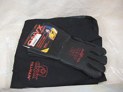 Tillman Onyx Welding Jacket Leather Fire Cotton  Leather Gloves Xxl