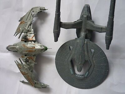 Star trek eaglemoss Special Klingon D4 Into Darkness Federation starship movies