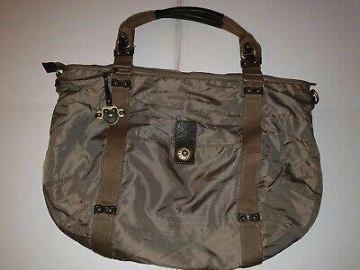 *KIPLING ABBEY* Metalic Brown/Mushroom - large Handbag/Tote bag/Shopper - RARE
