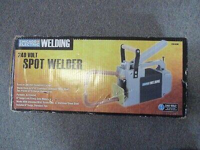 Chicago Electric Welding 240 Volt Spot Welder 61206 New