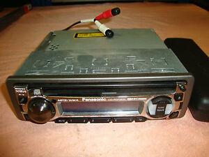 Panasonic CQ RDP 383 N Autoradio Radio mit CD Player 2953