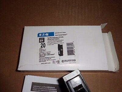 Eaton Cutler-hammer Brlafgf120qn Quick Connect Neutral Afci Gfi New