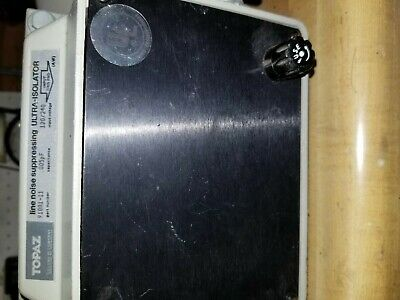 Topaz Line Suppressing Ultra Isolator 91001-11