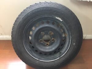 195/65/15 set of four winter tires and rims
