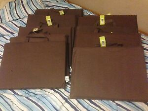 Brand New Chocolate Coloured Seat Cushions