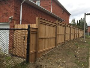 Fence Deck repair install