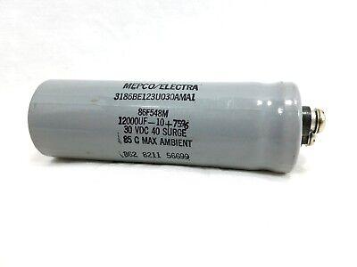12000uf 30vdc Capacitor Mepcoelectra 40 Surge Mepco Electra Electrolytic