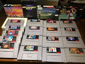 Super Nintendo SNES Games - Rare Titles - Metroid, Turtles in...