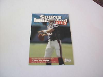 Tom Brady Patriots 2006 Topps Sports Illustrated Kids Card  Ssi23 Wow