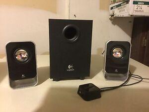 Logitech LS-21 speaker & subwoofer set