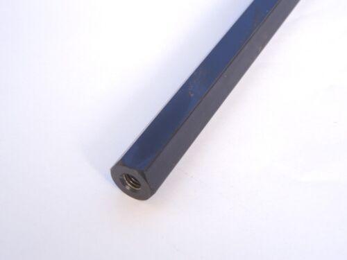 Spacer Rod Steel Magnetic 17 mm hexagonal, 390 mm, threaded M8 x 1.25
