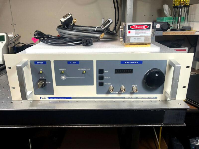 ESI / Lightwave Electronics 110M Laser Head w/ Controller LPW 1047nm