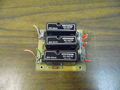 Charmilles Technologies PC Relay Board, 854600 ASSR, Used