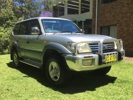 2000 Toyota Landcruiser Prado VZJ95R VX Auto Charlestown Lake Macquarie Area Preview