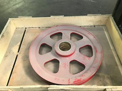 Crane Sheave Pulley 27 Oad For 2.25 Dia Steel Cable