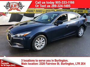 2017 Mazda Mazda3 SE, Automatic Leather, Heated Seats, Bluetooth