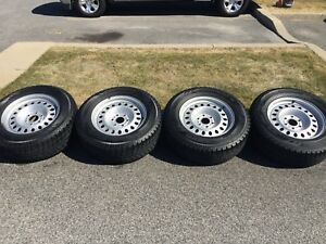 4 Winter tires 265/65R18 TOYO Obverse GSI-5 with rims