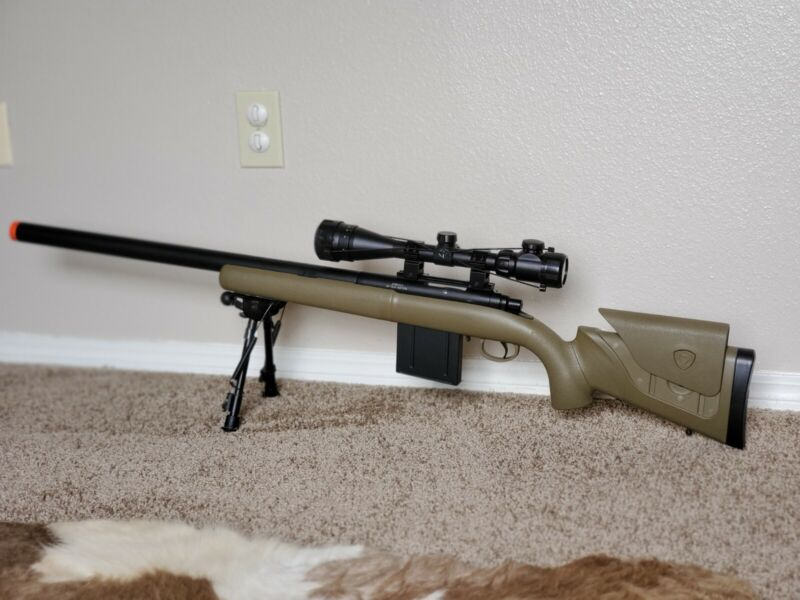 APS MP40A3 550fps Airsoft Sniper Rifle