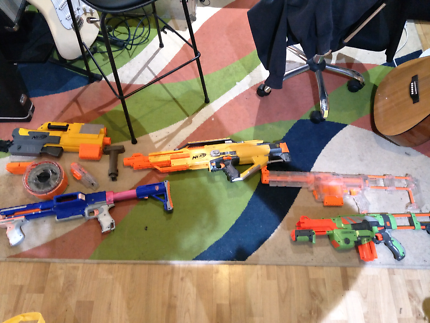 Assorted Nerf Guns