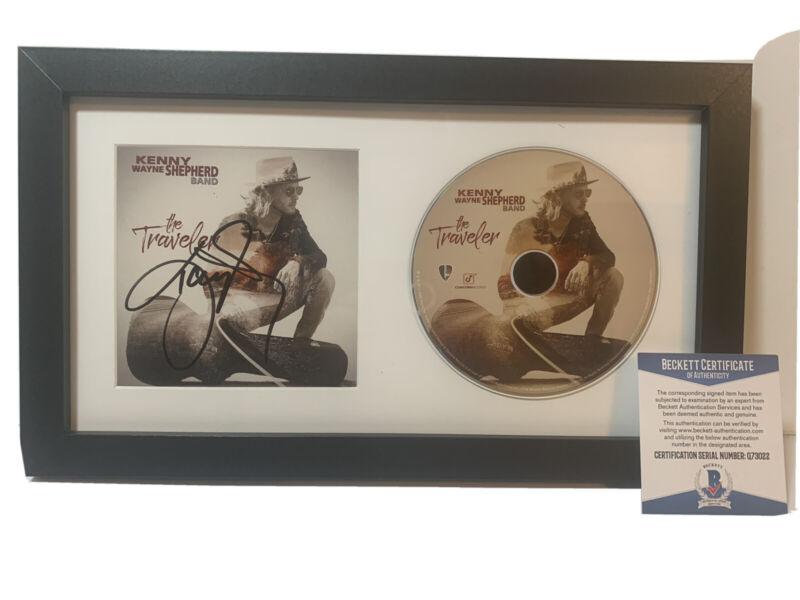 Kenny Wayne Shepherd Signed Autographed Framed CD Display BAS Certified