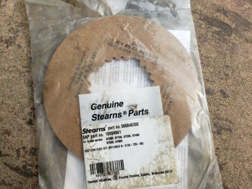 OEM Stearns Brake Friction Disc Kit 566848300 / 5-66-8483-00, SAP P/N: 105548461