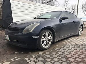 2004 infinity G35 RWD safetied