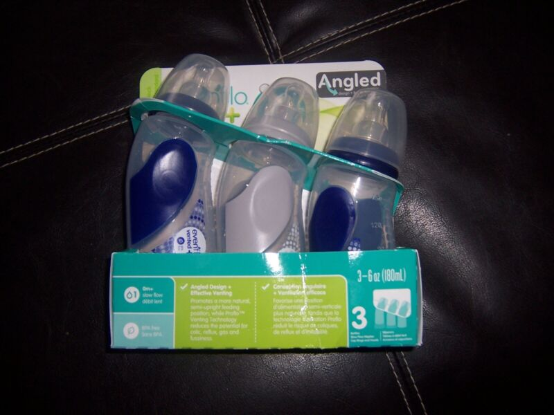 Evenflo angled 6 oz baby bottle new in package