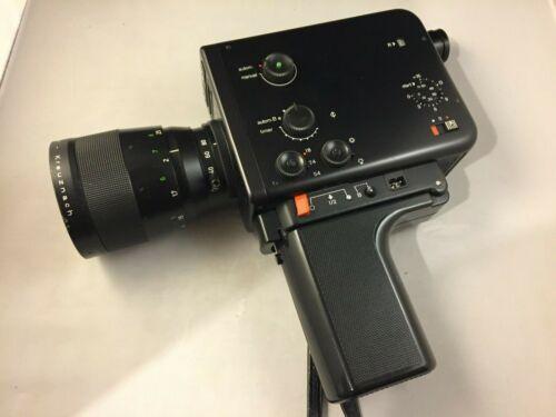 Braun Nizo 801 Black Super 8 Movie Camera