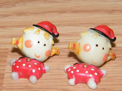 Vintage Girl With Pig Tails Women's Fashion / Costume Jewelry Earrings **READ**](Women's Pig Costume)