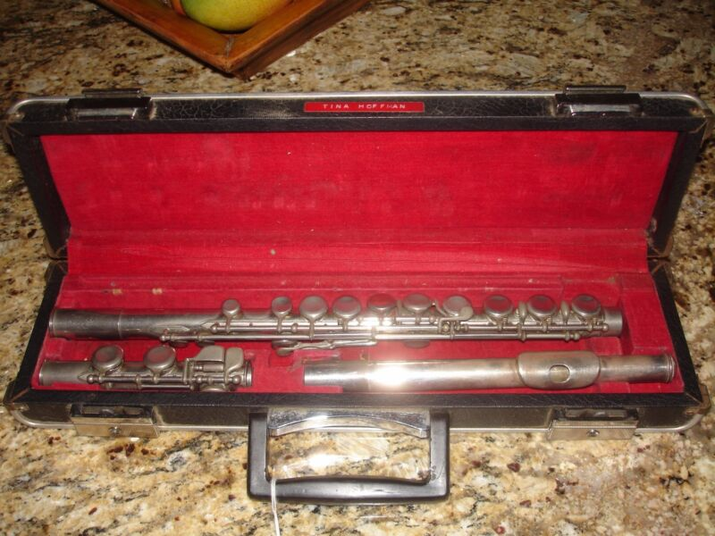 Vintage Pearl NS-97 Intermediate Flute #41174 - Used & Ready to Play