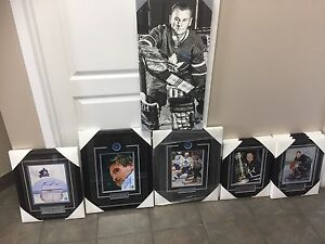 Toronto maple leafs signed pictures / al Pacino + more
