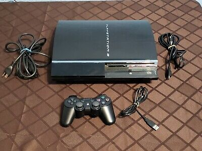 Sony PlayStation 3 CECHA01 60 GB- 1 Controller -Tested