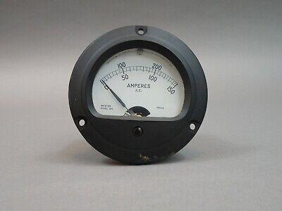 Weston 304 Instruments 0-200 Ac Amp Panel Meter