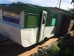 Vintage caravan Marmion Joondalup Area Preview