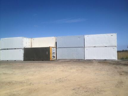 Shipping ISO Reefers &  dry containers for sale