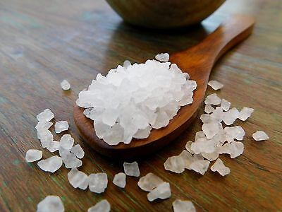 Australian Coarse Sea Salt • 5 oz Resealable Kraft Pouch • SaltNerds 5 Ounce Resealable Pouch