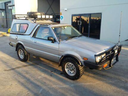 Subaru Brumby Targa Top 1985 4x4 ej22 VERY RARE Alexandra Hills Redland Area Preview